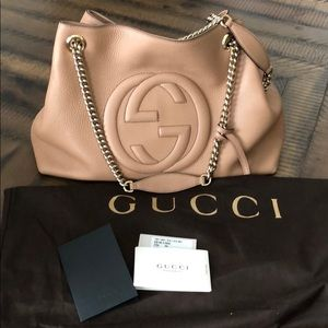 Gucci Soho Chain Hobo Bag- 100% authentic